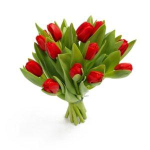"""Букет тюльпанов """"Ноктюрн"""""""